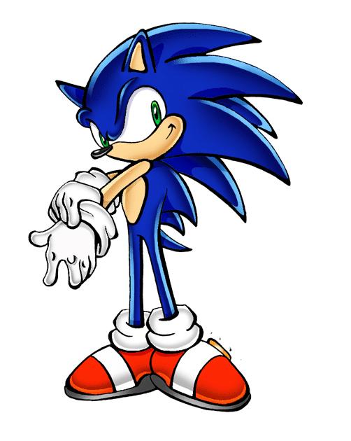 Sonic clipart 7