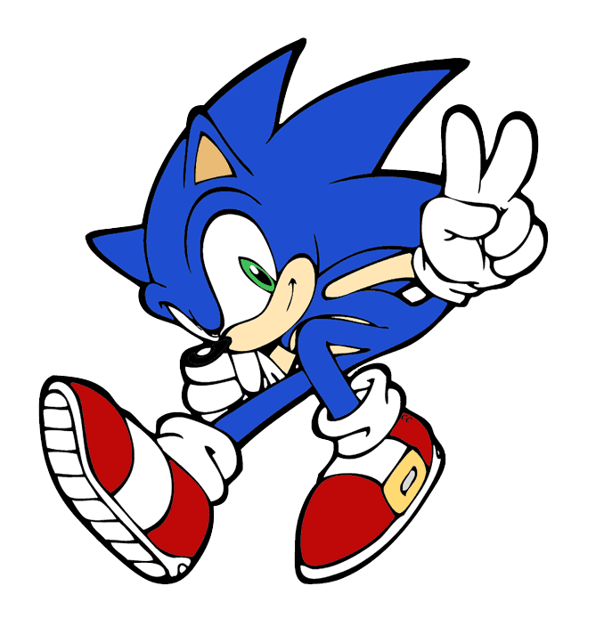 Sonic clipart download