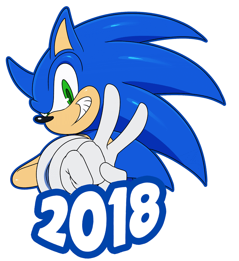 Sonic clipart for kid