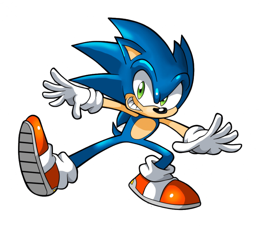 Sonic clipart free 1