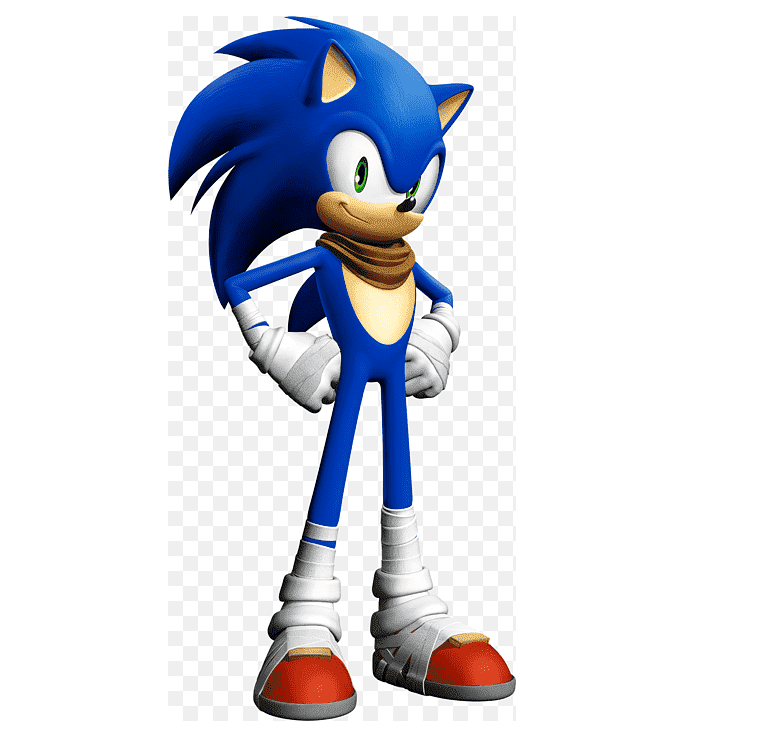 Sonic clipart free 6