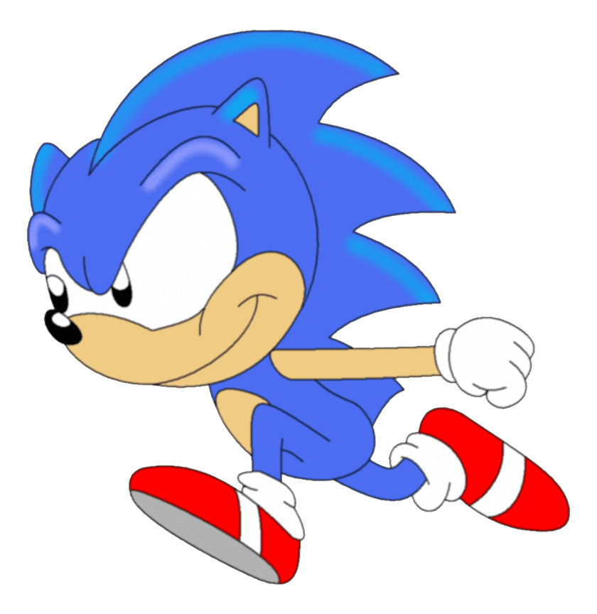 Sonic clipart free 7