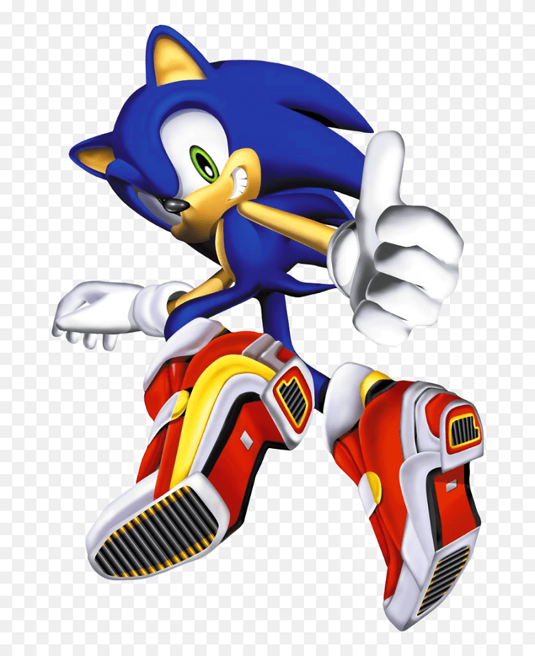 Sonic clipart free 8