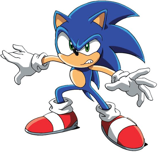 Sonic clipart free for kids