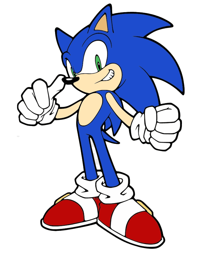 Sonic clipart free
