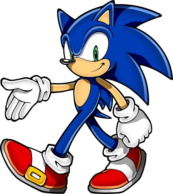 Sonic Clipart