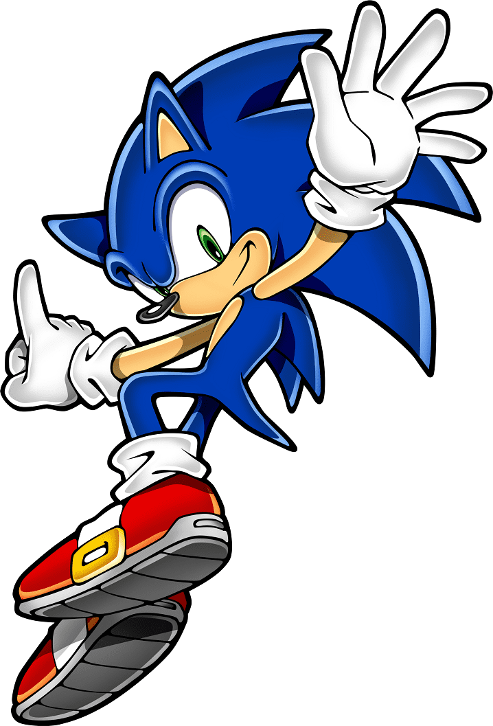 Sonic clipart picture