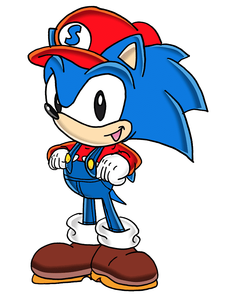 Sonic clipart png 1