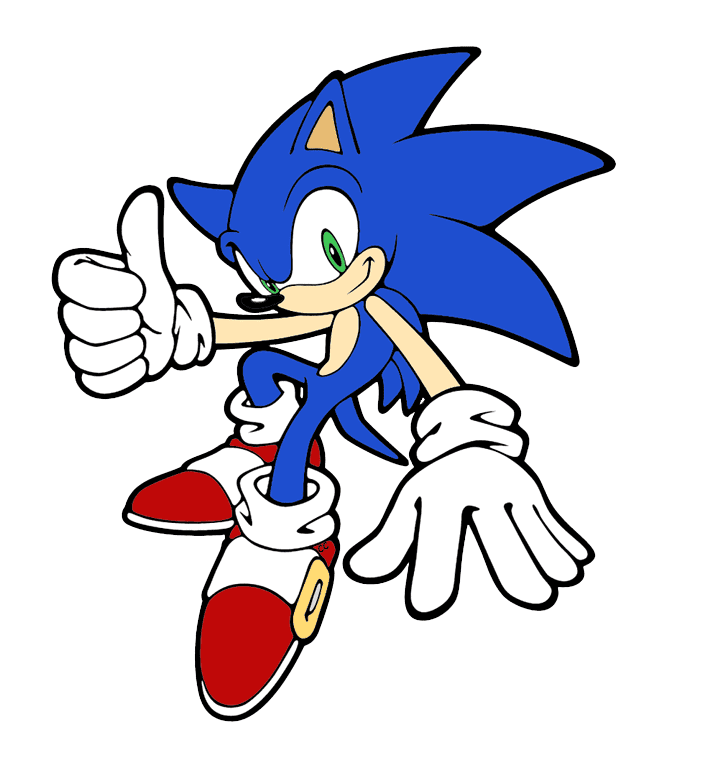 Sonic clipart png for kid