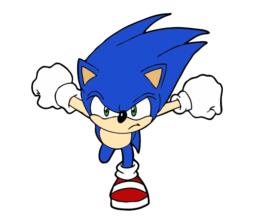Sonic clipart png free