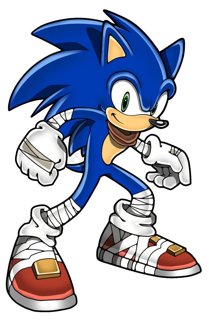 Sonic the Hedgehog clipart download