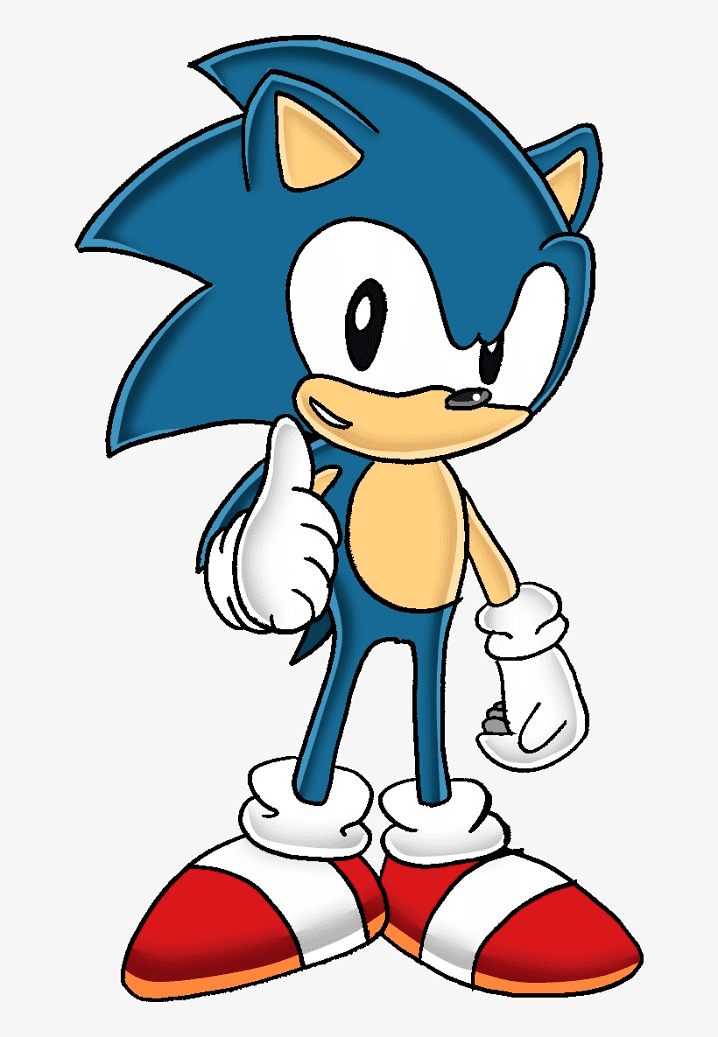 Sonic the Hedgehog clipart free