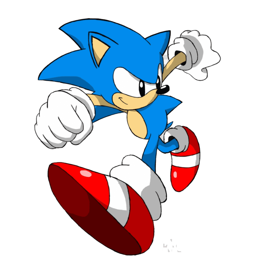 Sonic the Hedgehog clipart png