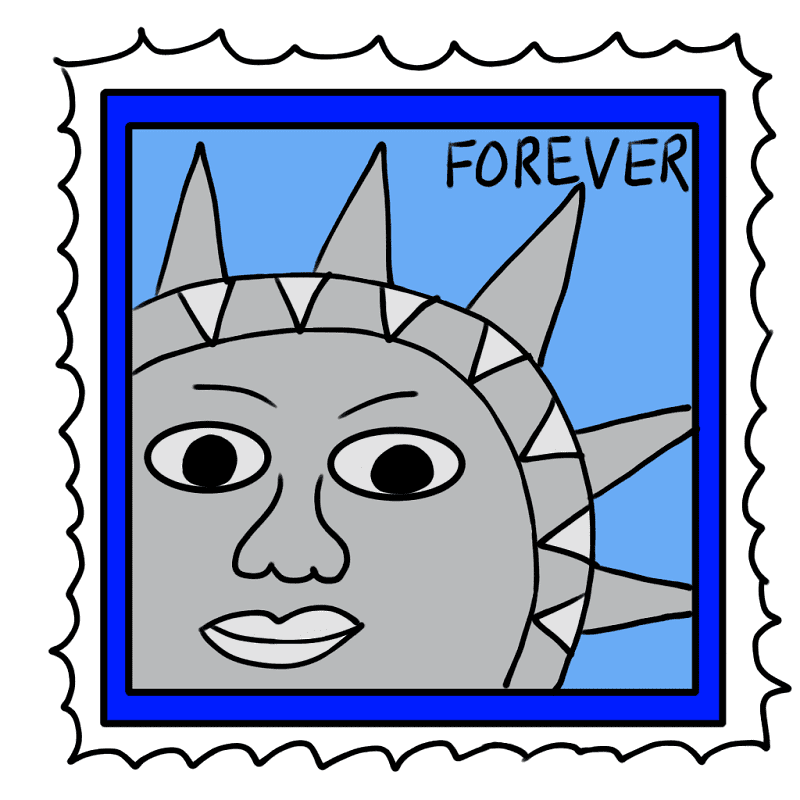 Stamp clipart for free