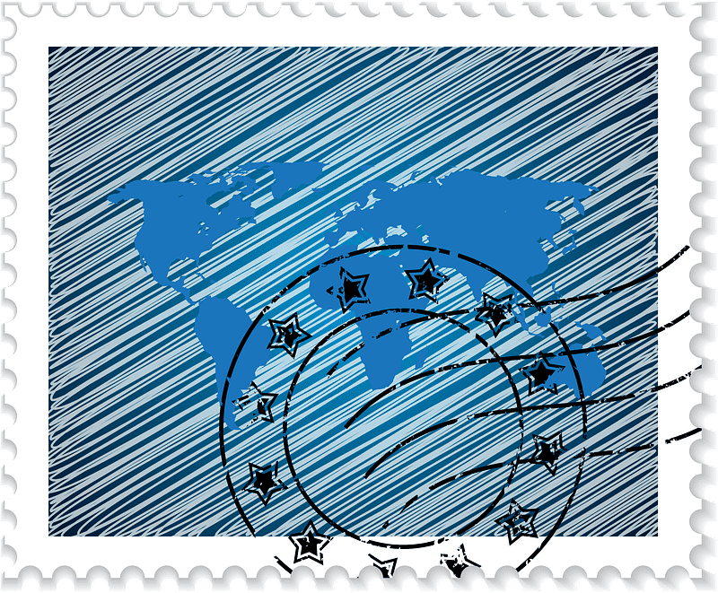 Stamp clipart transparent 5