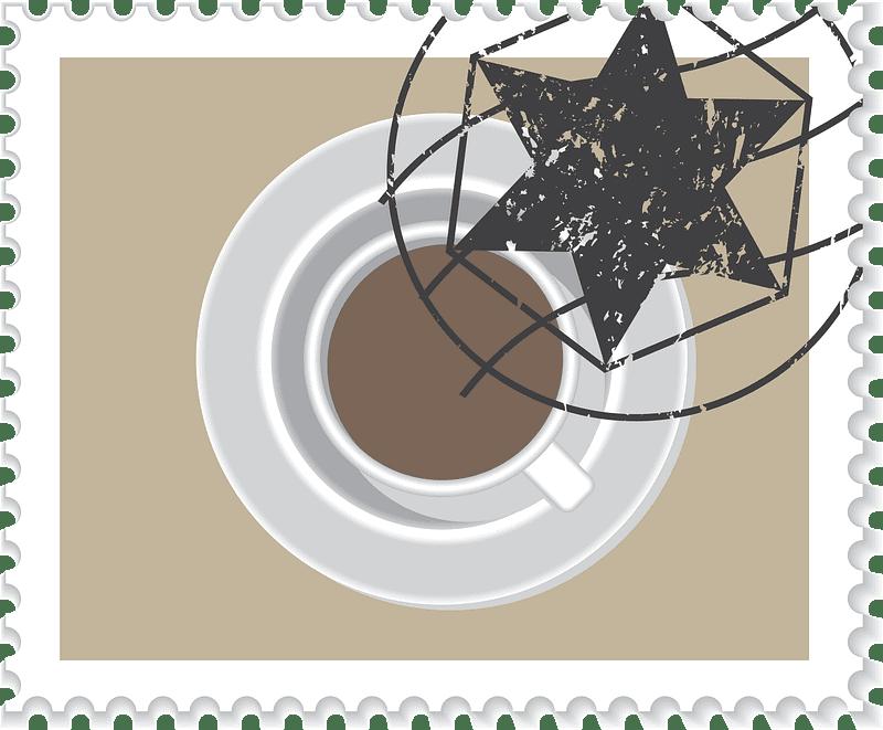 Stamp clipart transparent 6