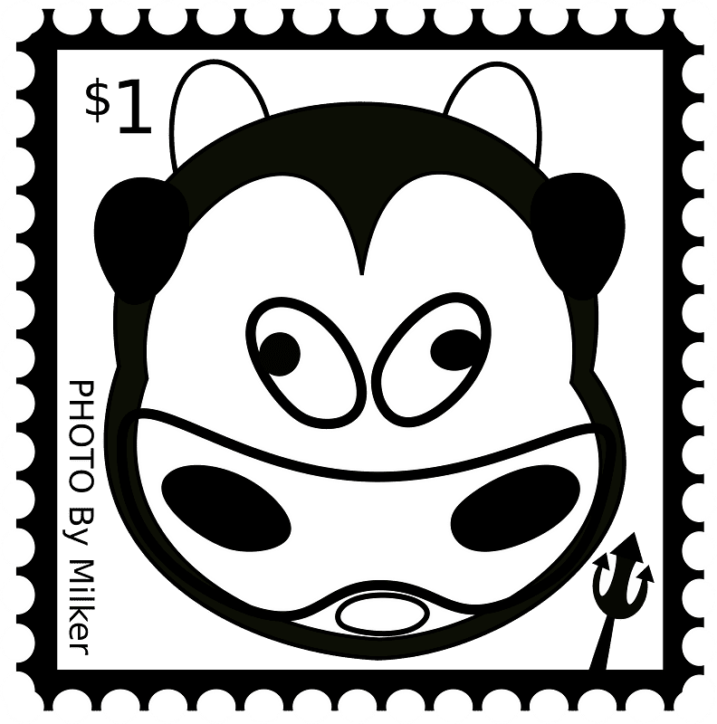 Stamp clipart transparent 7