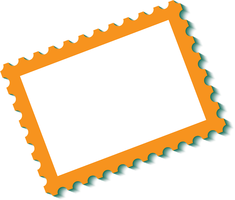 Stamp clipart transparent background 5