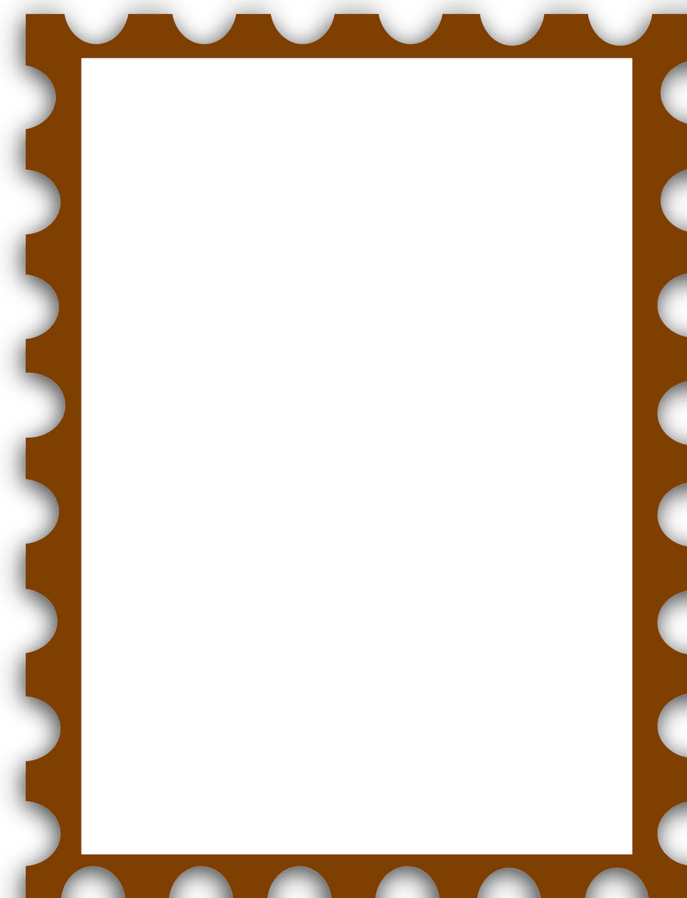Stamp clipart transparent background 7