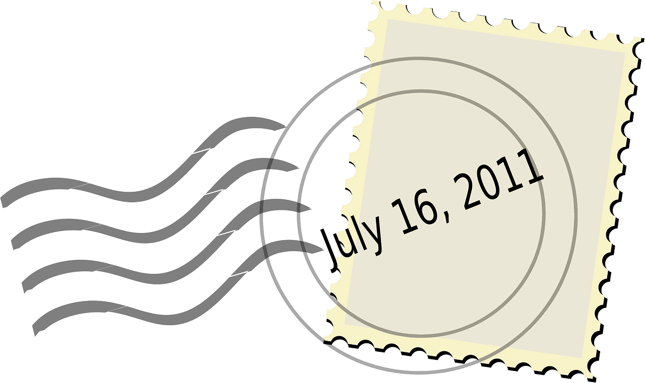 Stamp clipart transparent for kids