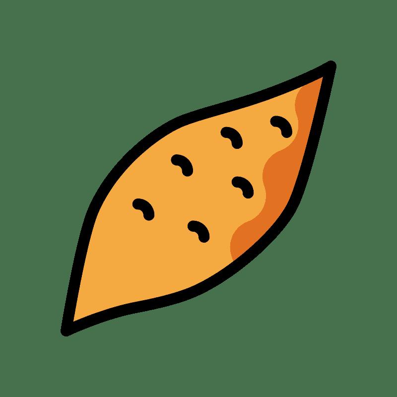 Sweet Potato clipart transparent 4