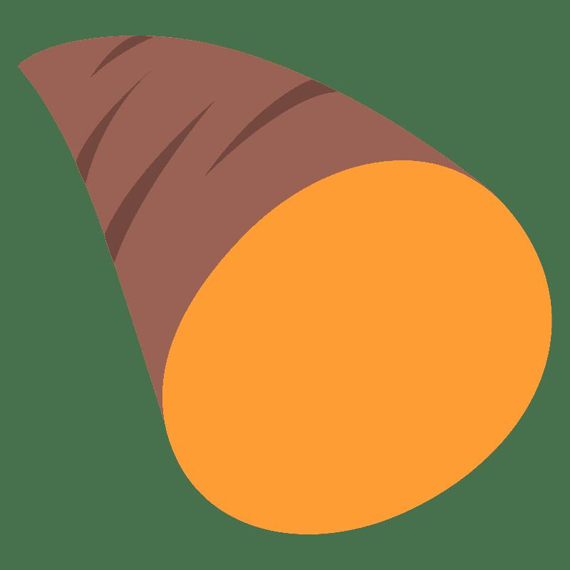 Sweet Potato clipart transparent 5