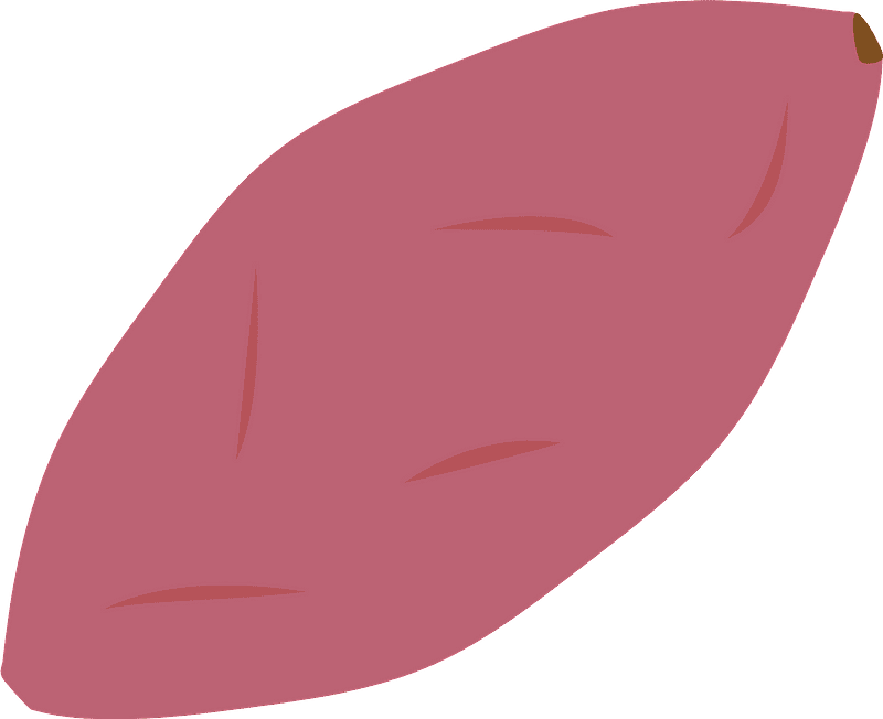 Sweet Potato clipart transparent