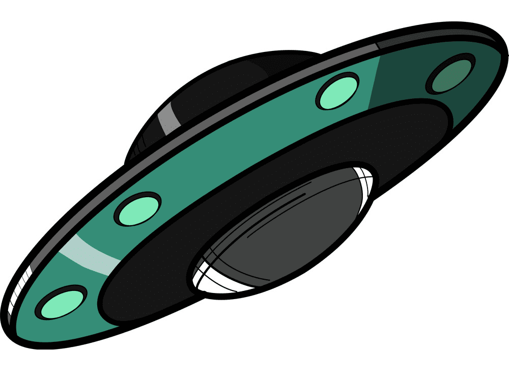 UFO clipart for free