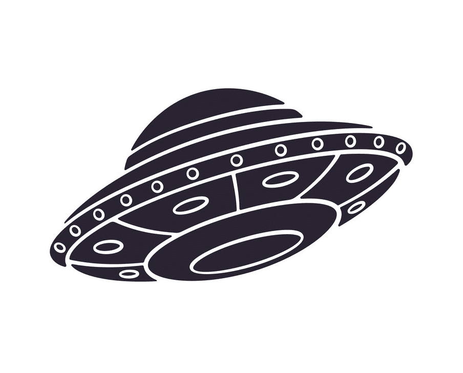 UFO clipart for kid