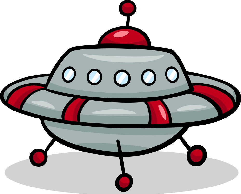 UFO clipart free for kids