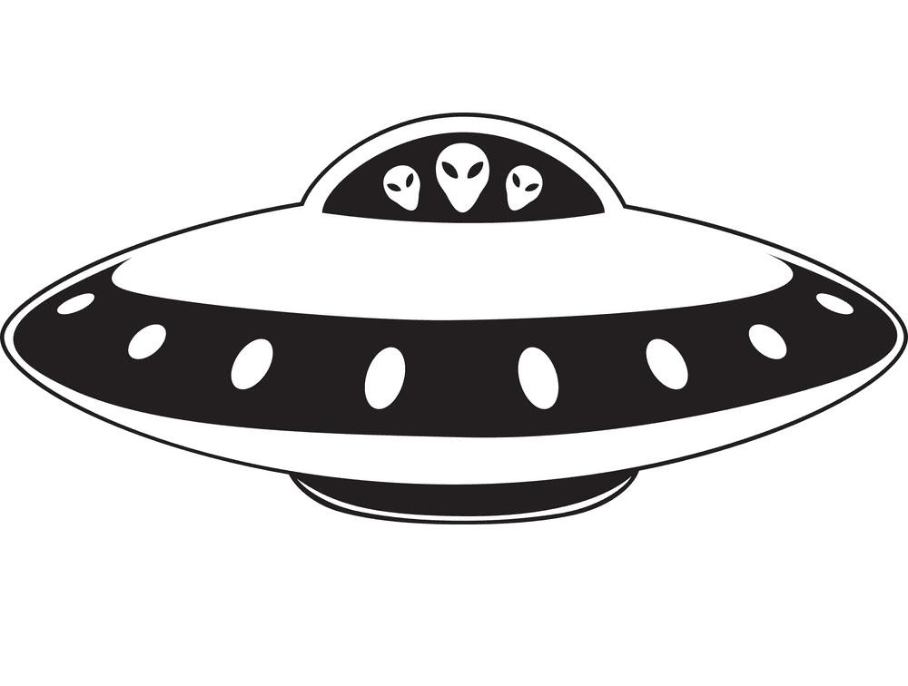 UFO clipart free picture