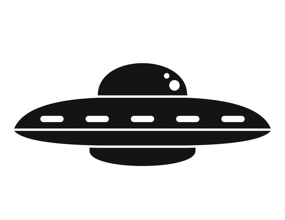 UFO clipart image