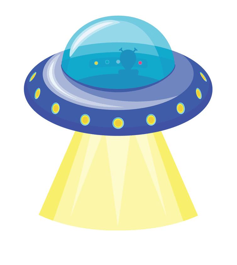 UFO clipart picture