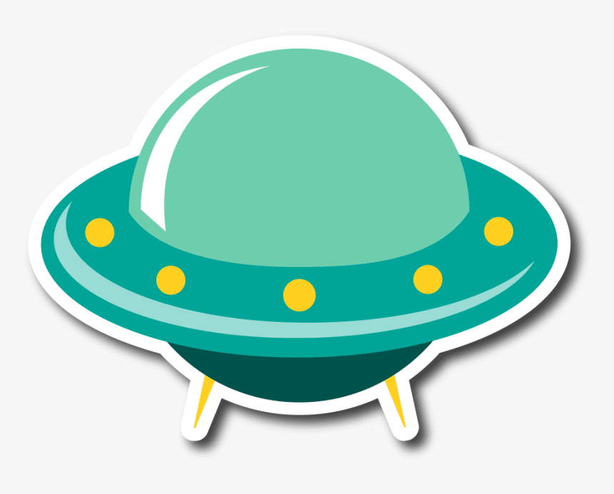 UFO clipart png 10