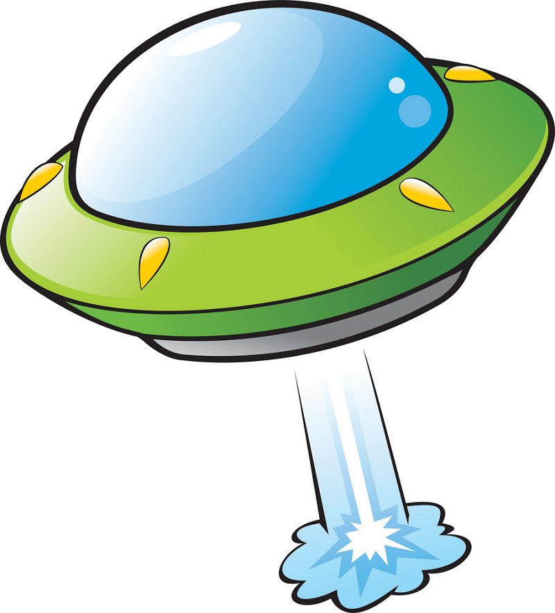 UFO clipart png 3