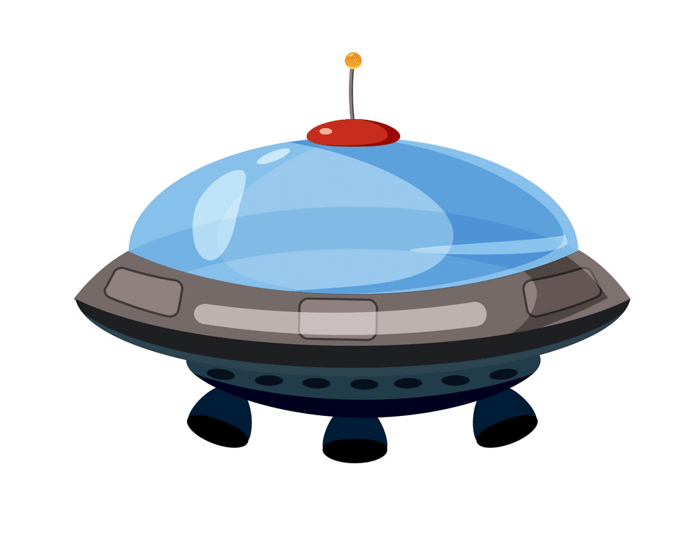 UFO clipart png 4