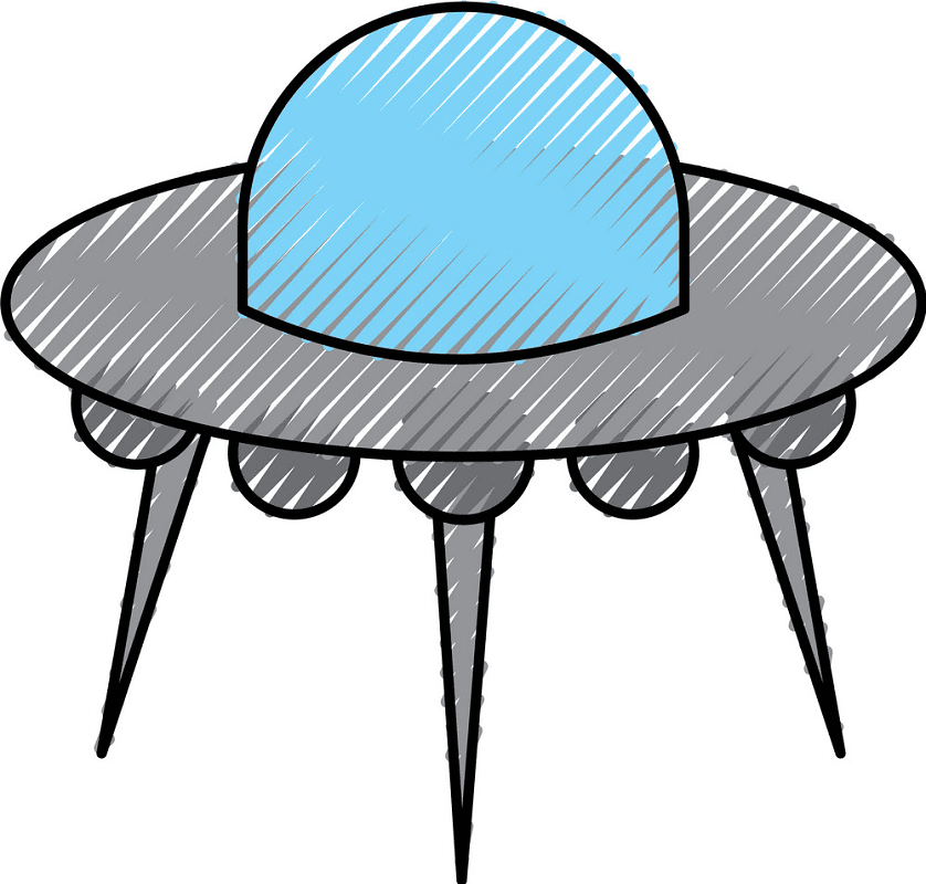 UFO clipart png 7