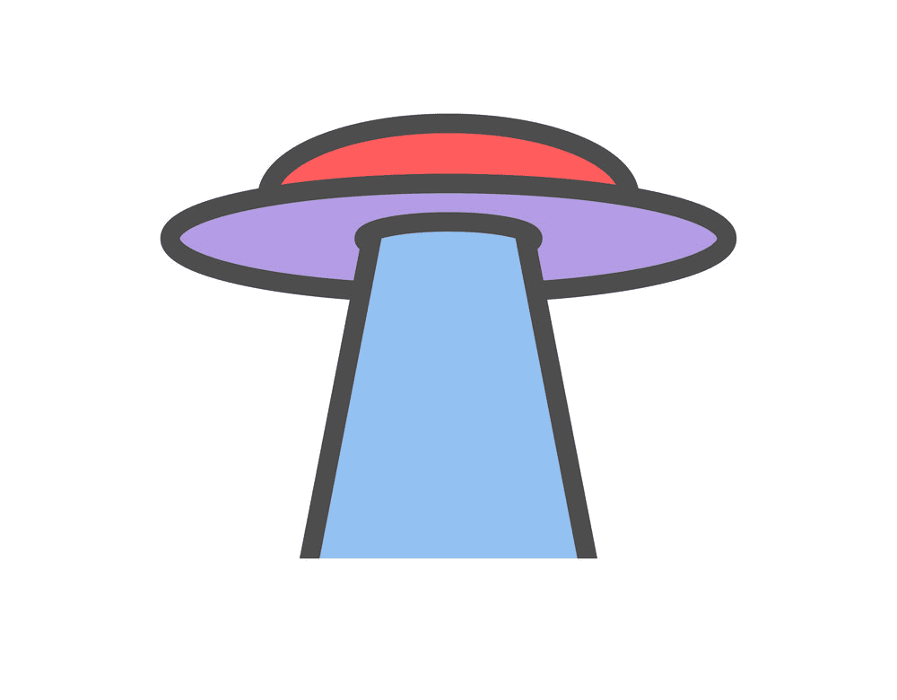 UFO clipart png 8