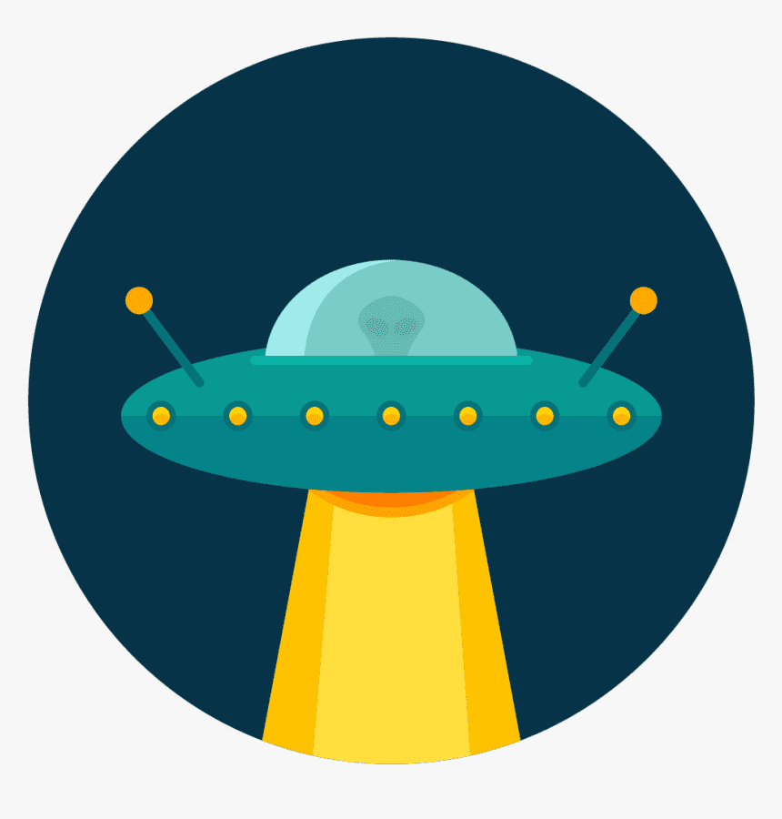 UFO clipart png 9