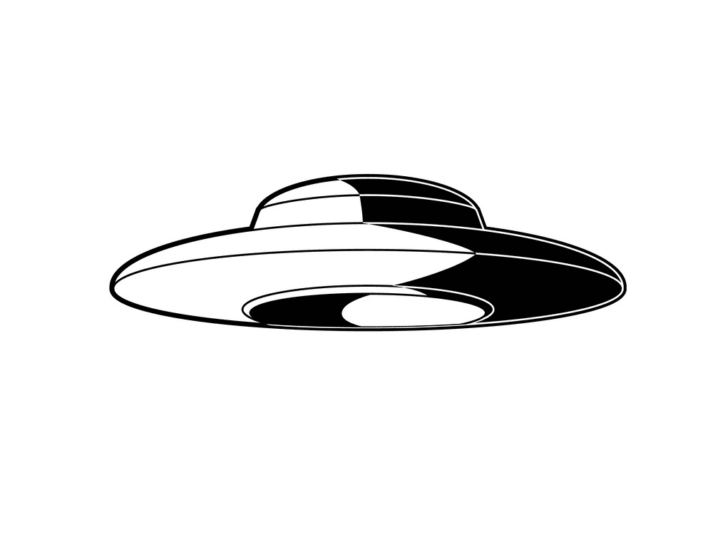 UFO clipart png for kids