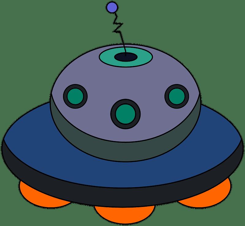 UFO clipart transparent 11