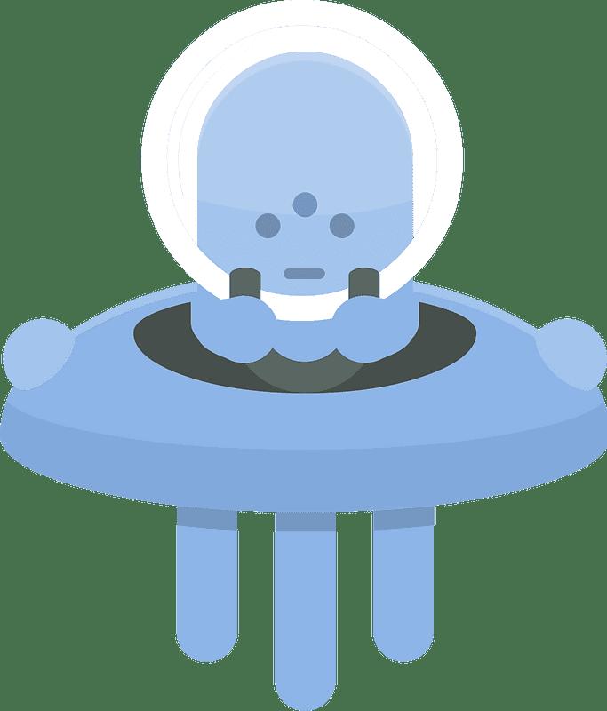 UFO clipart transparent 6