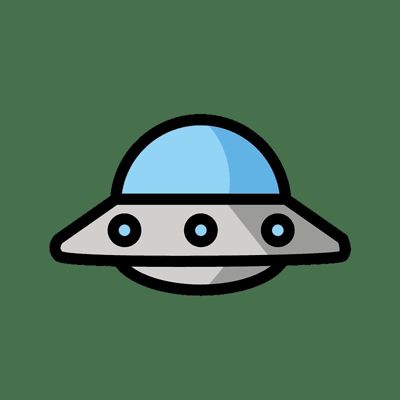 UFO clipart transparent background 1