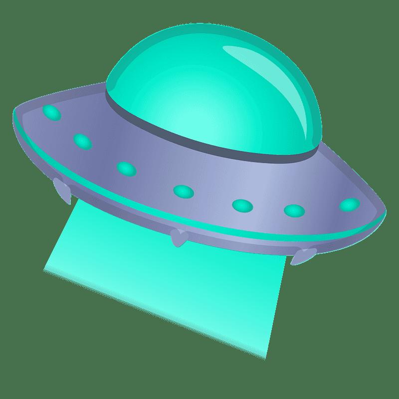 UFO clipart transparent background 2