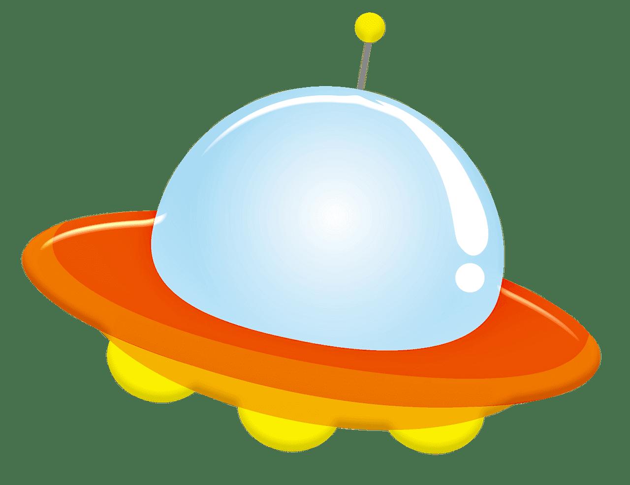 UFO clipart transparent background 4