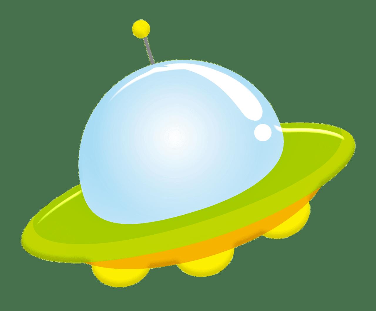UFO clipart transparent background 5