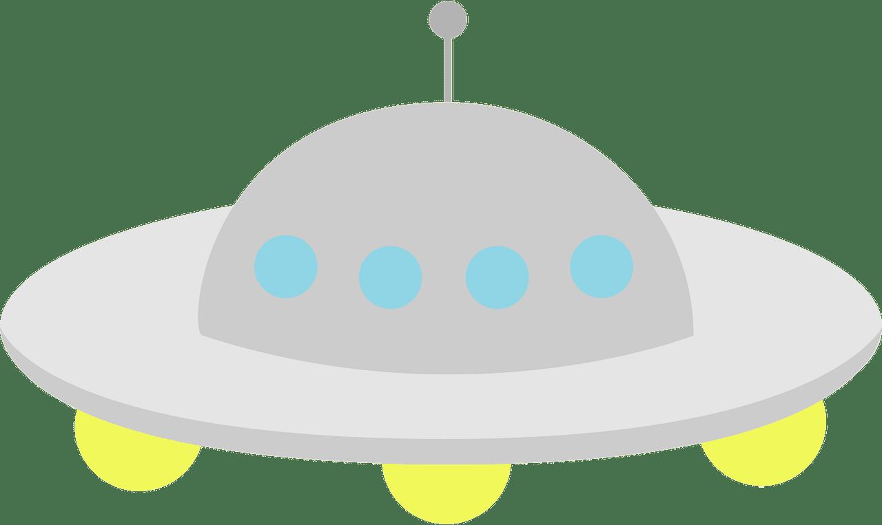 UFO clipart transparent background 7
