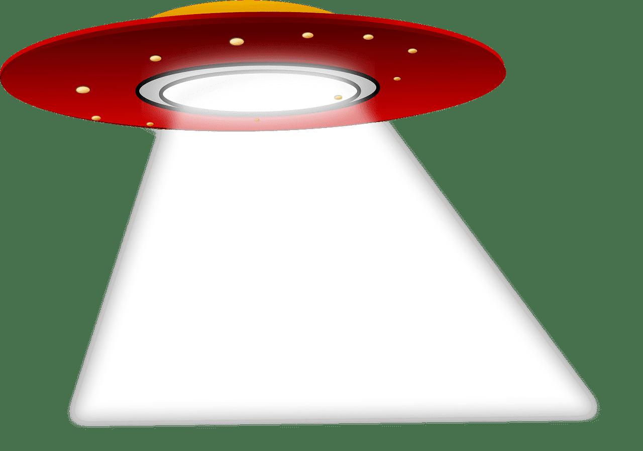 UFO clipart transparent background 8