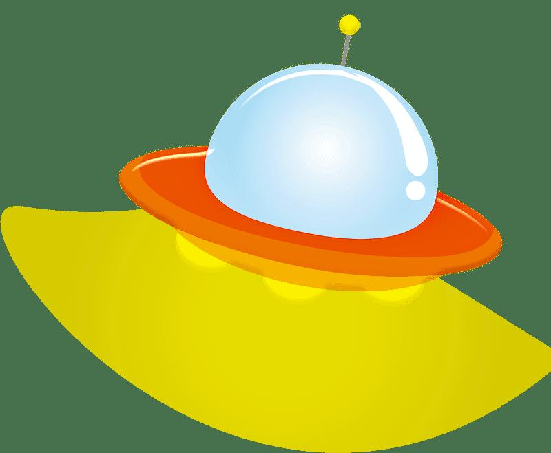 UFO clipart transparent background 9