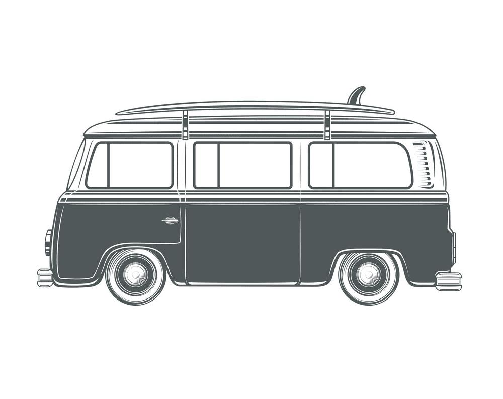 Van clipart free for kid